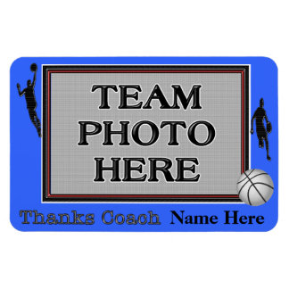 Basketball Magnets Thank You Coach Gifts