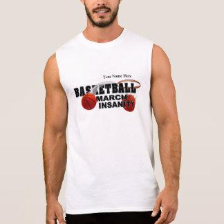 Basketball March Insanity - Customizable Sleeveless Shirt