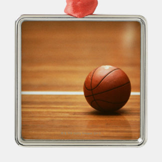 Basketball Metal Ornament