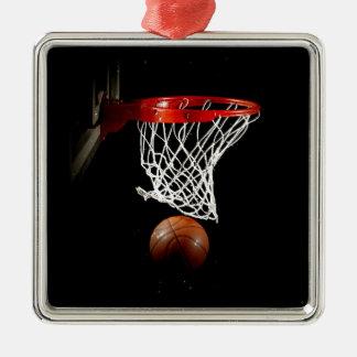 Basketball Metal Ornament