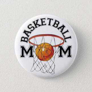 Basketball Mom 2 Inch Round Button
