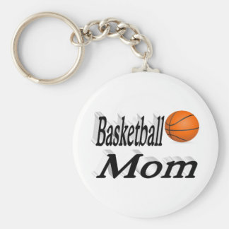 Basketball Mom 3D Key Chains