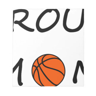 Basketball mom notepad