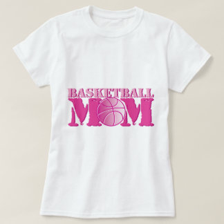 Basketball Mom Pink T-Shirt
