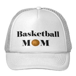 basketball mom trucker hat