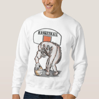 Basketball monkey sweatshirt