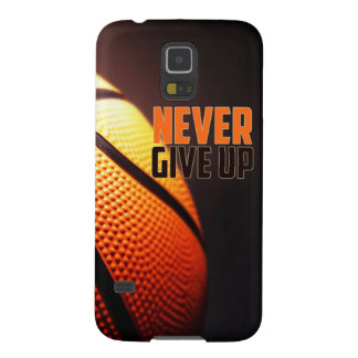Basketball motivation - never give up by storeman galaxy s5 cases