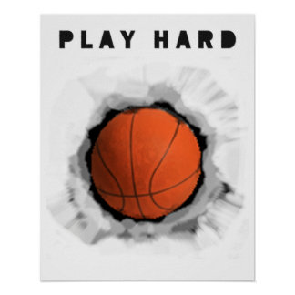 Basketball Motivation Poster