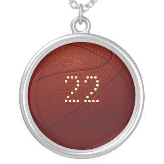 Basketball Necklace