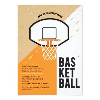 Basketball Net Invitation