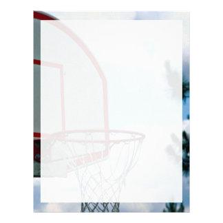 Basketball net letterhead