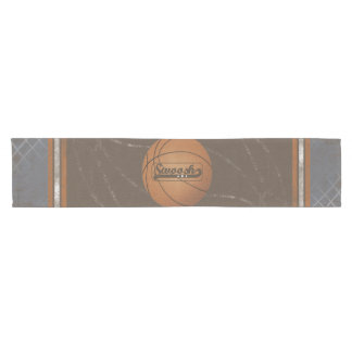 Basketball Net Swoosh Short Table Runner
