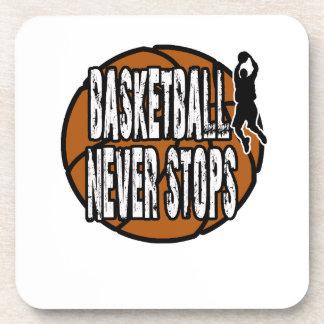 Basketball never stops coaster