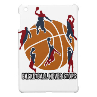 Basketball never stops iPad mini cover