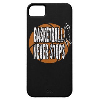 Basketball never stops iPhone 5 case