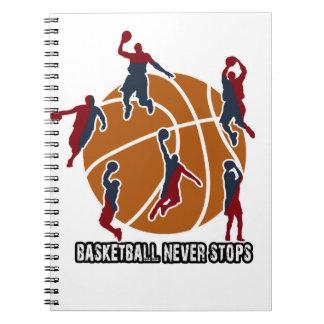 Basketball never stops notebooks