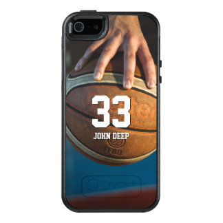 Basketball No   Sport Cool Gift OtterBox iPhone 5/5s/SE Case