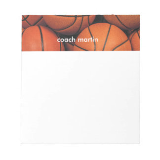 Basketball Notepad