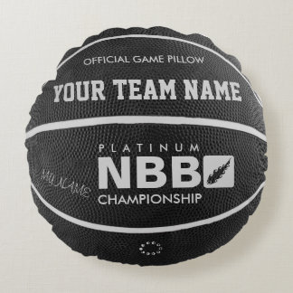 BASKETBALL OFFICIAL GAME PILLOW Black wl