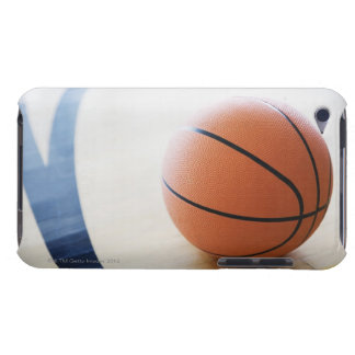 Basketball on court iPod Case-Mate case