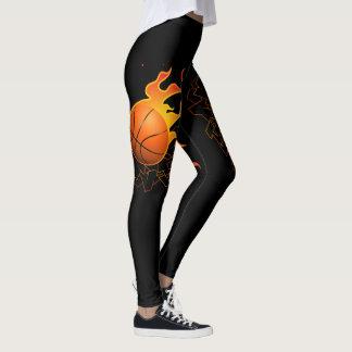 Basketball on Fire (Baller) Leggings