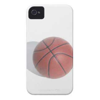 Basketball on white background iPhone 4 Case-Mate case