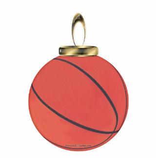 Basketball Ornament Photo Sculpture Ornament