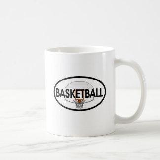 Basketball Oval Coffee Mug