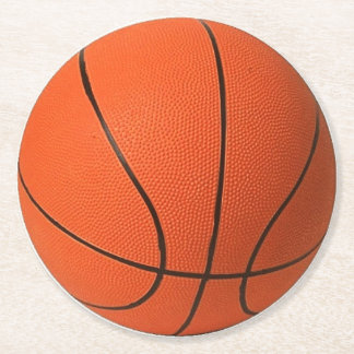 Basketball Paper Coasters