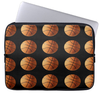 Basketball_Pattern,_13_inch_Laptop_Sleeve Laptop Computer Sleeves
