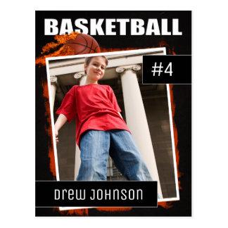 Basketball Photo Sports Trading Card