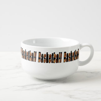 Basketball Picture Logo, Soup Mug, Soup Mug