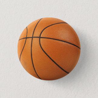 basketball pin / button - I heart hoops!