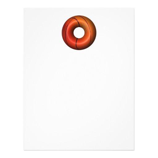Basketball Plain Donut Flyers