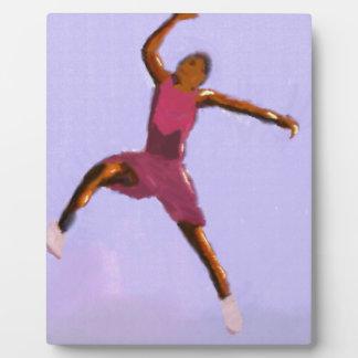 Basketball Play Art Plaque