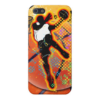 Basketball Player Abstract iPhone 5/5S Case