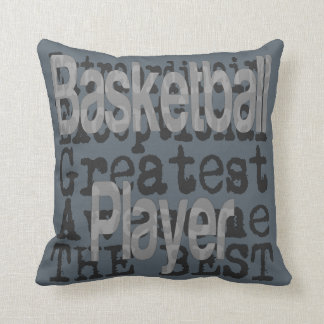 Basketball Player Extraordinaire Throw Pillow