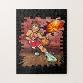 Basketball player jigsaw puzzle