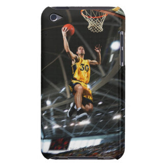 Basketball player jumping in air barely there iPod case