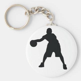 Basketball Player Keychain
