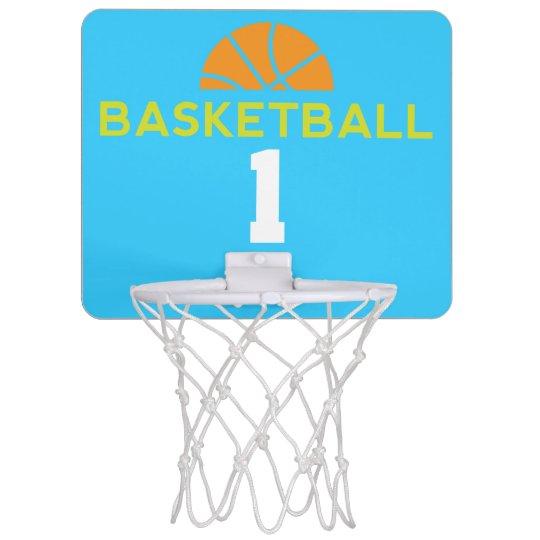 Basketball Player Number 1 Custom Sports Hoop