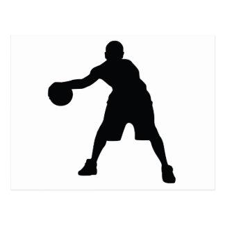 Basketball Player Postcard