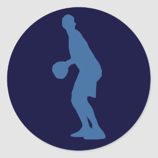 Basketball Player Silhouette Stickers