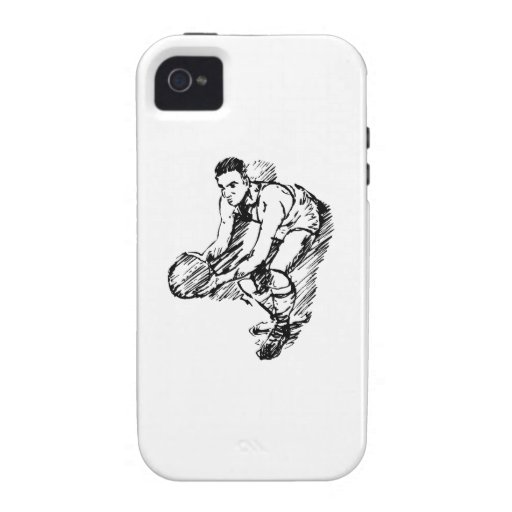 Basketball Player Sketch Case-Mate iPhone 4 Cover