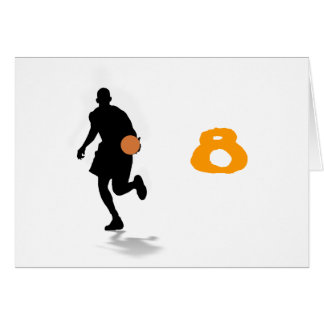 Basketball Player Table Tent Template