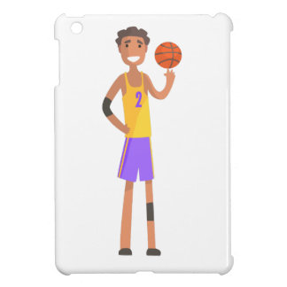 Basketball Player Turning Ball On A Finger Action Cover For The iPad Mini