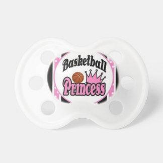 Basketball princess-pink pacifier