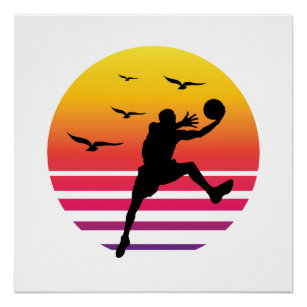 Vintage Sports Basketball Posters, Prints & Poster Printing
