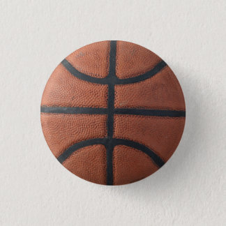 Basketball Round 1 Inch Round Button