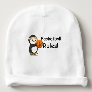 Basketball Rules! Baby Beanie